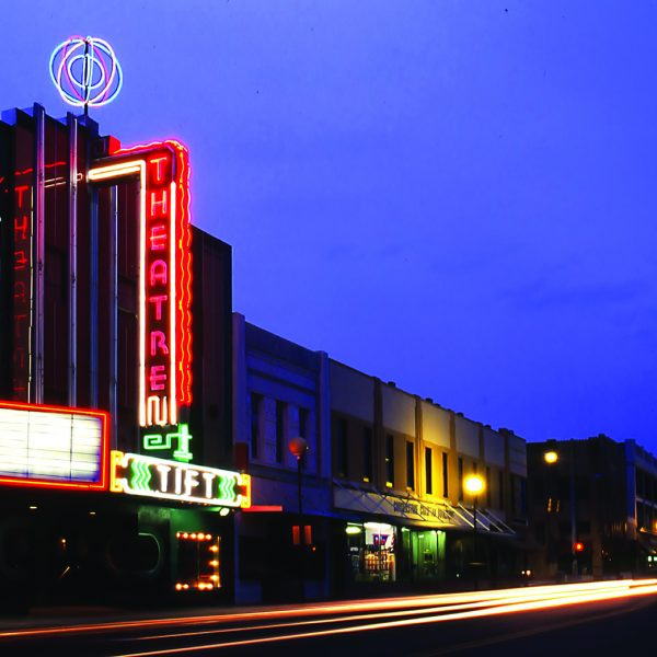 Tift Theatre at Night
